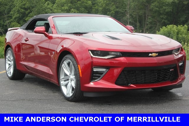 new 2017 chevrolet camaro ss 2d convertible in chicago 00009405 mike anderson chevrolet. Black Bedroom Furniture Sets. Home Design Ideas