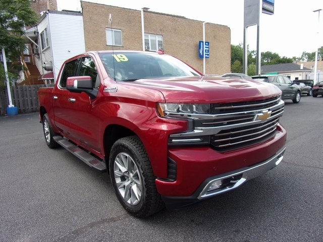 New 2019 Chevrolet Silverado 1500 High Country 4d Crew Cab In