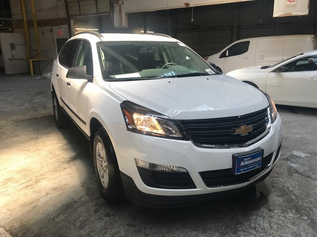new 2017 chevrolet traverse ls 4d sport utility in chicago 000h2072 mike anderson chevrolet. Black Bedroom Furniture Sets. Home Design Ideas