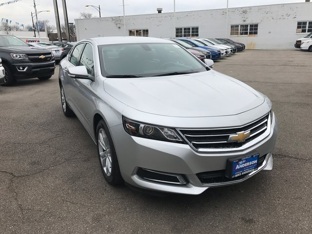 new 2017 chevrolet impala lt 4d sedan in chicago 000h1266 mike anderson chevrolet. Black Bedroom Furniture Sets. Home Design Ideas